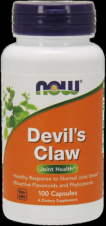 Devil's Claw Diabelski Pazur 100kaps NOW FOODS