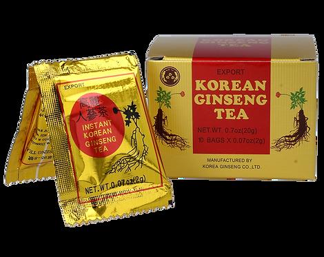Herbatka Instant z Żeń-szenia Koreańskiego (bez cukru) 10x2g Meridian