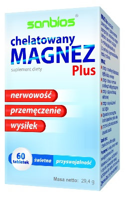 Magnez Plus 60 tabl. Sanbios