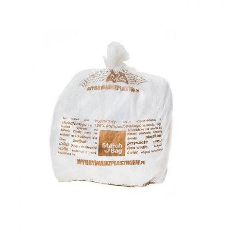 STARCHBAG Biodegradowalne worki na śmieci 15 sztuk 35 L