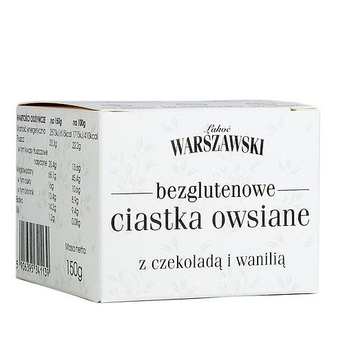 Ciastka Owsiane z Czekoladą 150g Baton Warszawski