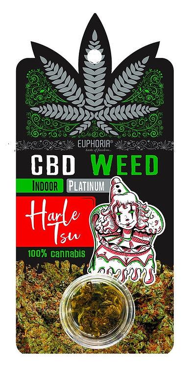 Kwiaty CBD Weed Platinium Harle Tsu ok. 1g. - Euphoria
