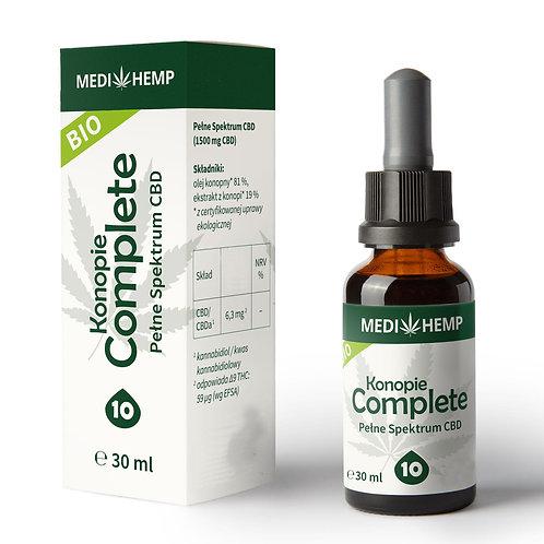 Olejek CBD Complete 10% 30ml Medihemp