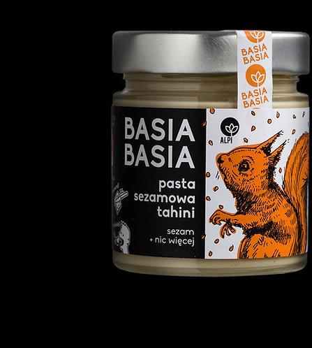BasiaBasia Pasta Sezamowa Tahini 210g Alpi
