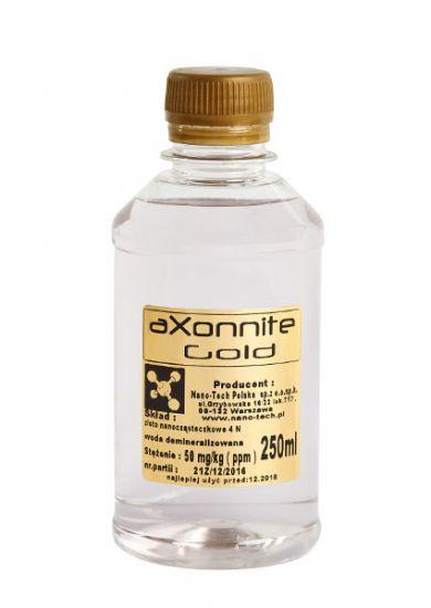 Koloid Złota Woda 250ml nano-TECH - aXonnite Gold
