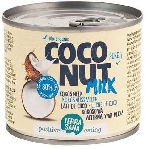 Coconut Milk Napój Kokosowy Bez Gumy Guar w Puszce(22% Tł.) BIO 200ml Terrasana