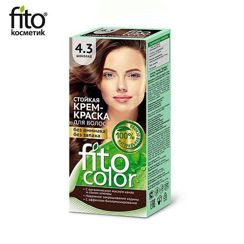 Farba do włosów 4,3 CZEKOLADA - FITO COLOR