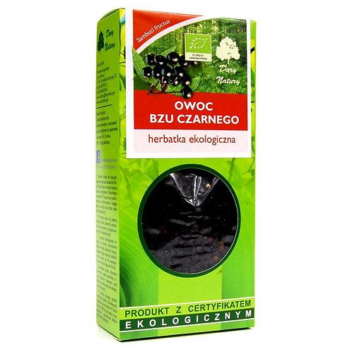 Herbatka Owoc Bzu Czarnego BIO 100g Dary Natury
