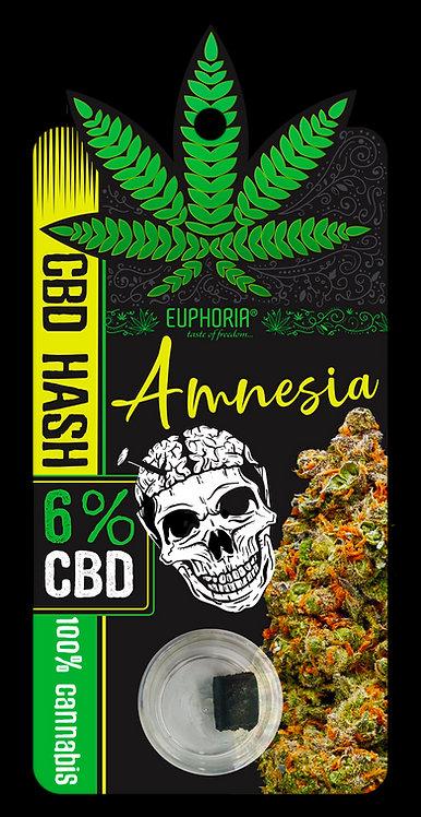Hash CBD 6% Amnesia ok. 1g. - Euphoria