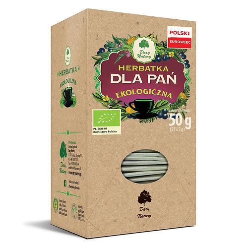 Herbata Dla Pań Fix BIO 25*2g Dary Natury