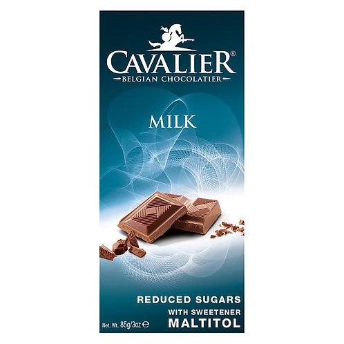 Czekolada Mleczna słodzona Maltitolem 85g Cavalier