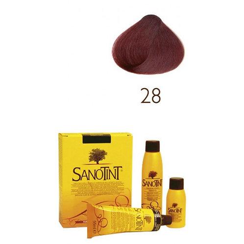 Farba do Włosów na Naturalnej Bazie 28 CZERWONY KASZTAN SANOTINT CLASSIC