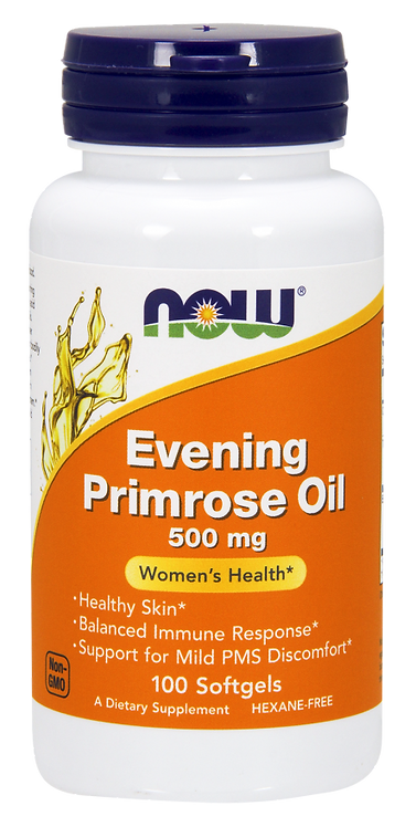 Evening Primrose Oil 500mg 100kaps NOW FOODS