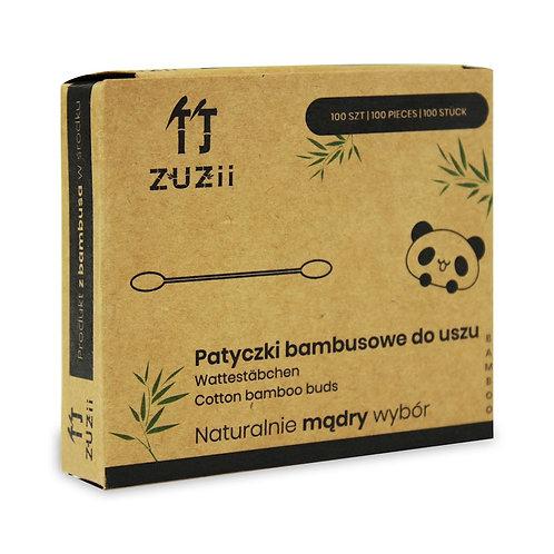 Patyczki higieniczne bambusowe z bawełną 100 szt - ZUZII