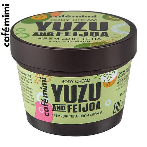 CAFE MIMI Krem do ciała - Yuzu i Feijoa, 110 ml
