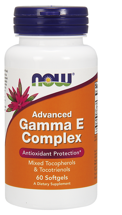Gamma E Complex 60kaps NOW FOODS