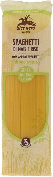 Makaron Kukurydziano-Ryżowy Spaghetti Bezglutenowy BIO 250g Alce Nero