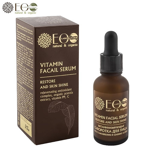 Serum witaminizujące i regenerujące - blask skóry 30ml ECO Laboratorie