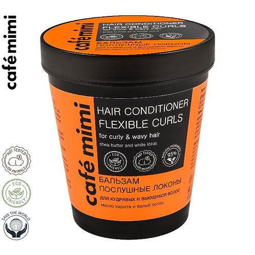 CAFE MIMI Balsam do włosów kręconych i falowanych Posłuszne loki, 220 ml