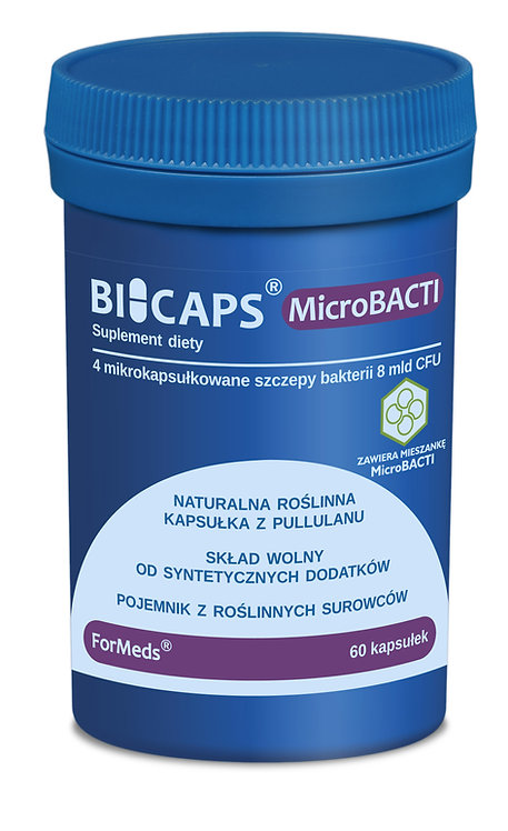 BICAPS Microbacti 60kaps Formeds