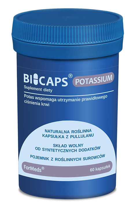 BICAPS Potassium 60kaps Formeds