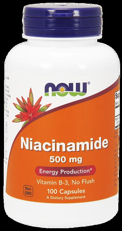 Niacinamide 500mg 100kaps NOW FOODS