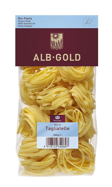 Makaron Semolinowy Gniazda Tagiatelle BIO 500g Alb Gold
