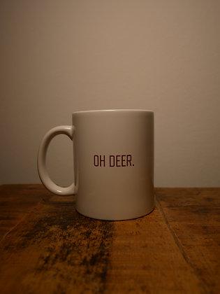 OH DEER. Cup - weiß