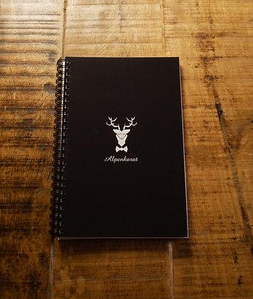 Alpenkarat Notebook - schwarz