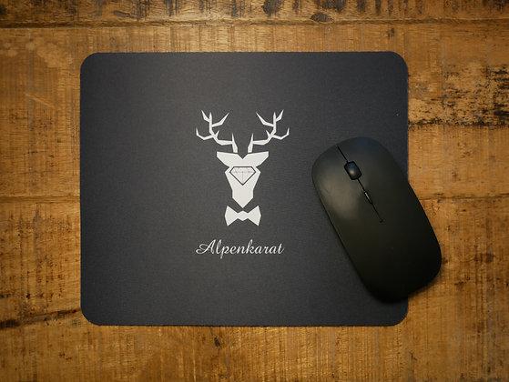 Alpenkarat Mousepad - schwarz