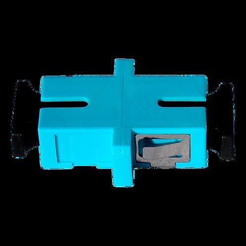 Adaptador SC-SC Fibra Óptica Simplex Multimodo OM3