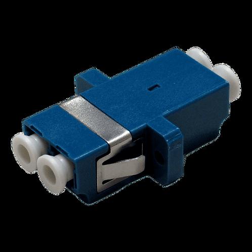 Adaptador LC-LC Fibra Óptica Duplex Monomodo