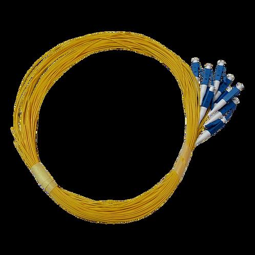 Pigtail LC Monomodo Amarillo 1.5m