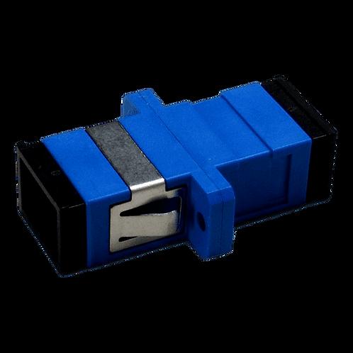 Adaptador SC-SC Fibra Óptica Simplex Monomodo