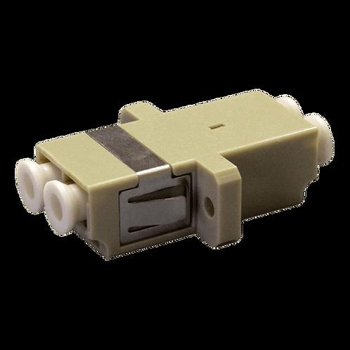 Adaptador LC-LC Fibra Óptica Duplex Multimodo
