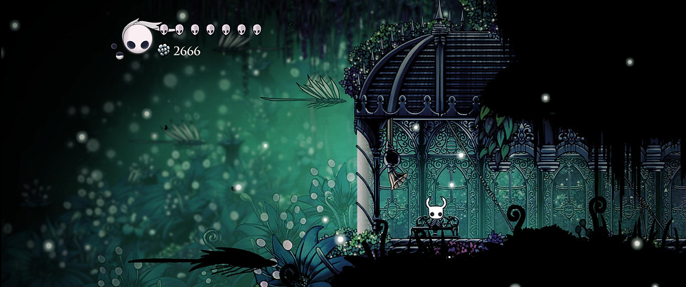 Hollow Knight Bench Landscape