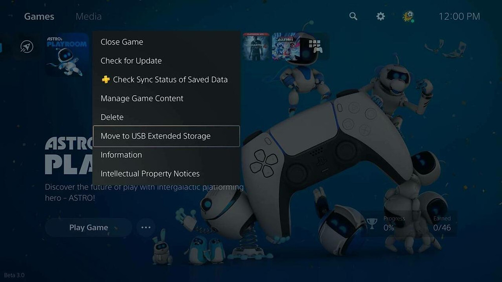 Sony PS5 April Update