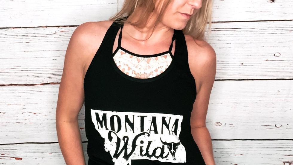 Montana Wild Women's Jersey Racerback Tank