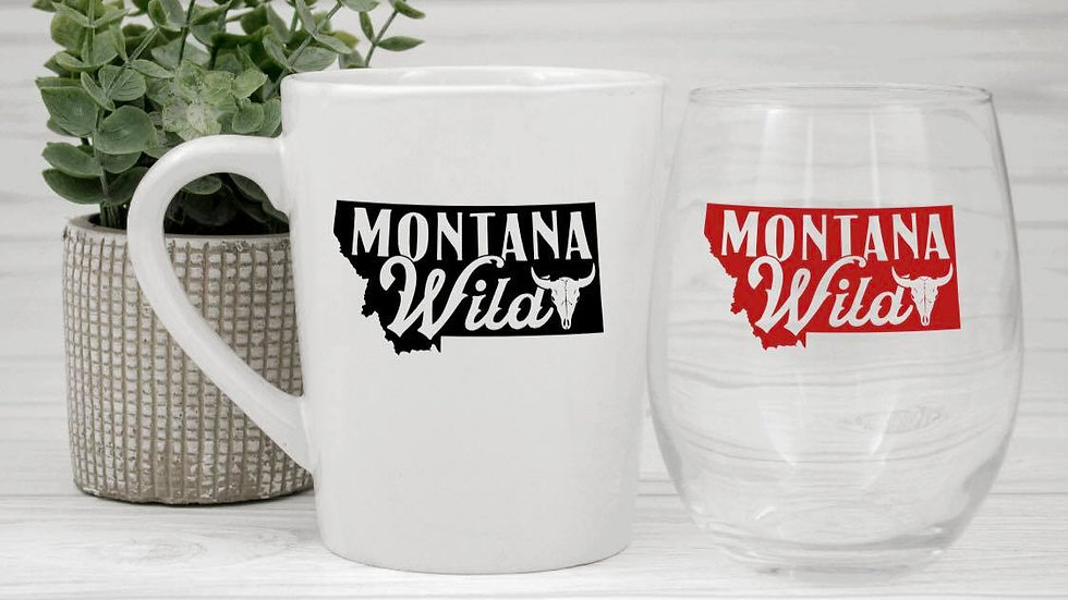 Montana Wild coffee mugs