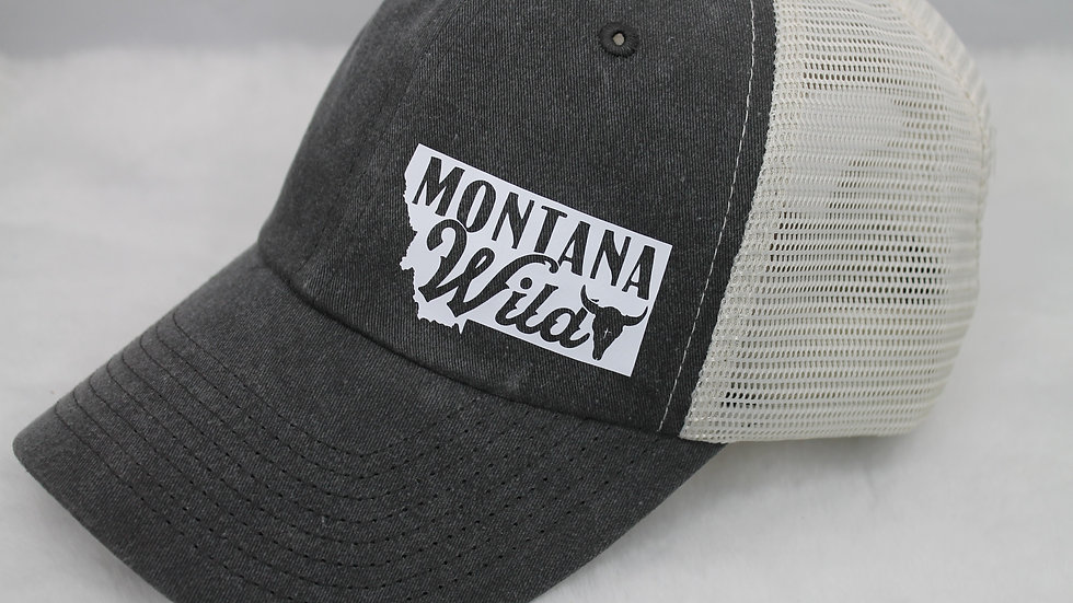 Montana Wild Trucker Hat