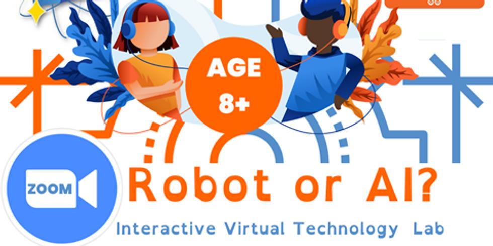 Robots or AI?