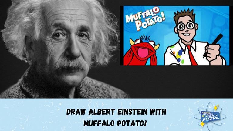 MUFFALO POTATO - How to Draw Albert Einstein