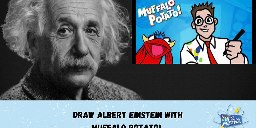MUFFALO POTATO - How to Draw Albert Einstein
