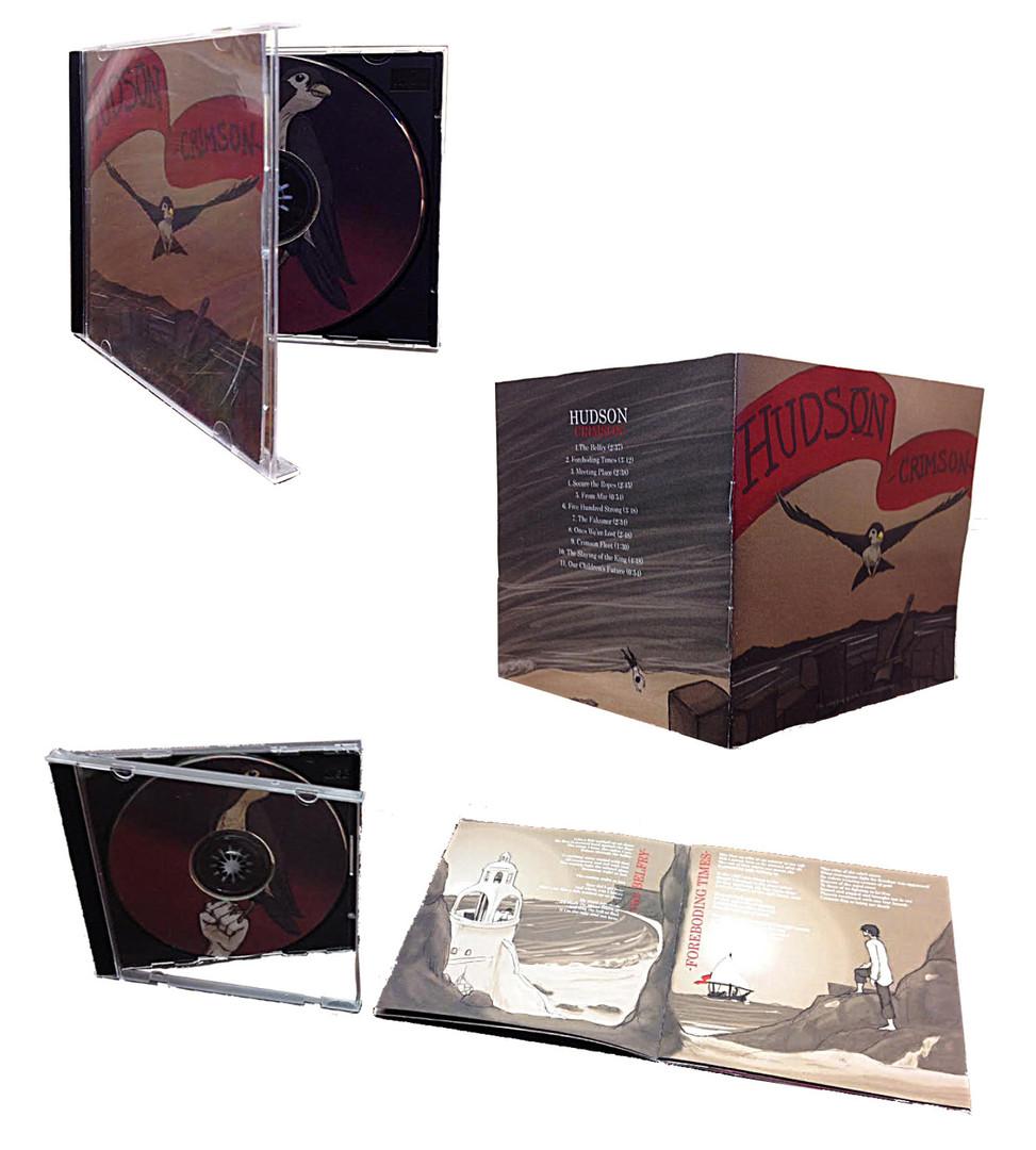 Hudson - Crimson Album Cover