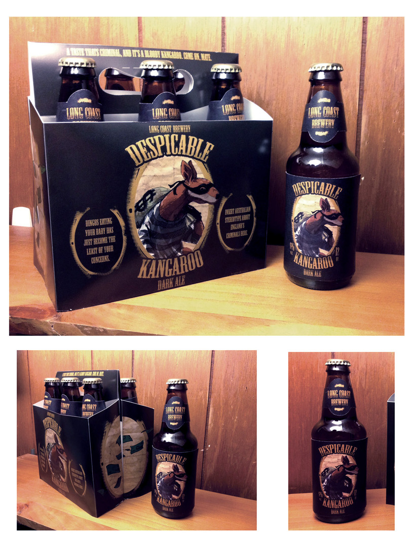 Despicable Kangaroo Dark Ale