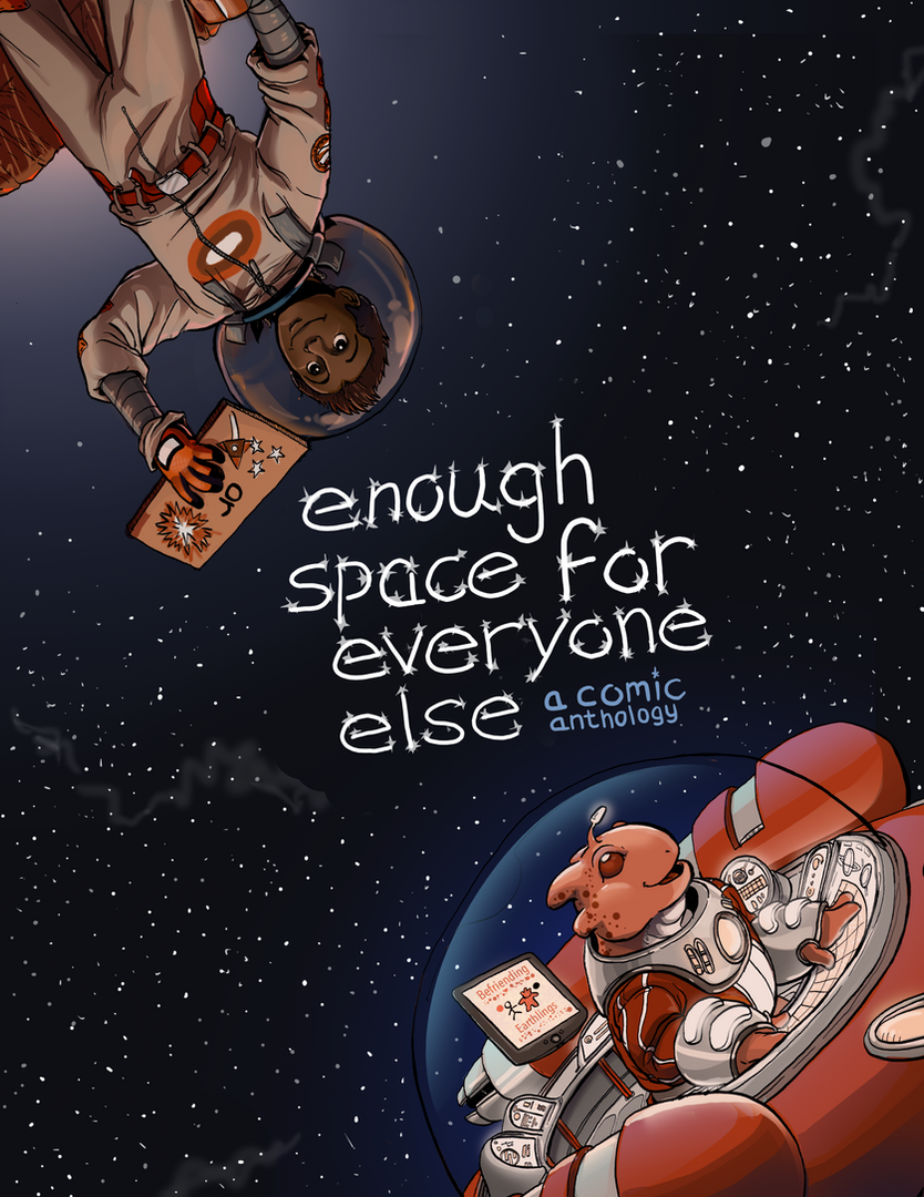 Enough Space for Everyone Else Anthology Cover