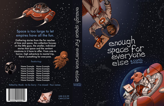 Enough Space for Everyone Else Front and Back Cover