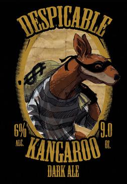 Despicable Kangaroo Label
