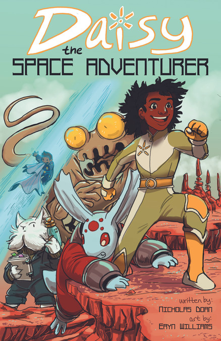 Daisy the Spae Adventurer Cover