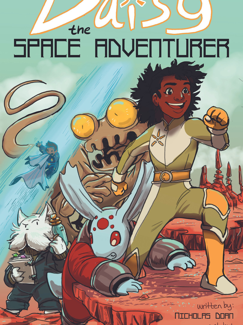 Daisy the Space Adventurer Cover
